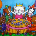 """The Little Tea party"" by LisaLorenz"