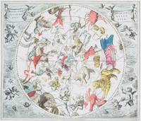 Celestial Planisphere Showing the Signs of the Zod