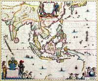 Map of South-East Asian and The East Indies