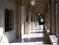 Hall in Nebraska Capital building