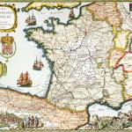 """Reproduction of Map of Routes of St James of Comp"" by fineartmasters"