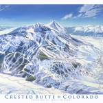 """CrestedButte"" by jamesniehuesmaps"