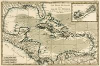 The Antilles and the Gulf of Mexico