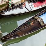 """Gondolas in Venice Italy"" by lillisphotography"
