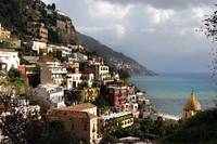 Positano on Amalfi Coast, Italy