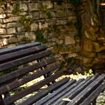 """Stone Walled Bench"" by raetucker"