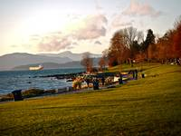 English Bay's Winter