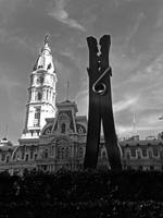 city hall & clothespin