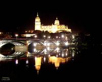 Salamanca at night