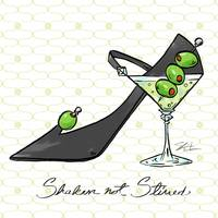 Cocktail Shoes Martini