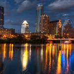 """DW_Austin_Skyline_Panorama-1"" by dawilson"