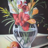 Glads of Summer Art Prints & Posters by Gail Caduff-Nash