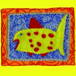 """redfish_10x10"" by badart"