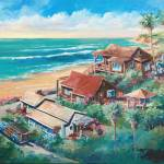 """Above Crystal Cove"" by WillyDaleArt"