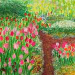 """""""Tulips and The Path"""" by ArtSamadhi"""