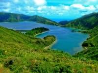 Lagoon of Fire - Azores - Portugal