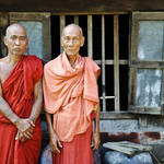 """Two Burmese monks"" by jcarillet"
