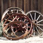 """Old Wagon Wheels"" by quietwhispers"