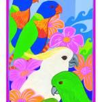 """Parrot Paradise"" by DezineZone"