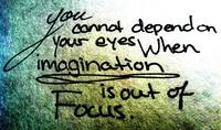 Imagination with Your Eyes