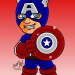 """Captain America"" by EdMedArt"