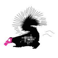STINKY SKUNK by Melissa Rivera - UNLEASH STUDIO