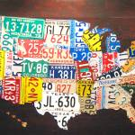 """License Plate Map 2012"" by designturnpike"