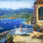 """Lunch On The Terrace"" by marilyndunlap"