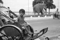 Cambodian boy in Phnom Penh