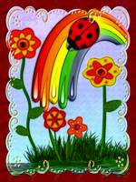 Rainbow Wished Whimsical Fantasy Art