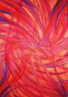 Feather Fire (Acrylic)