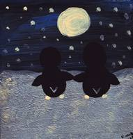 Penguins by Moonlight