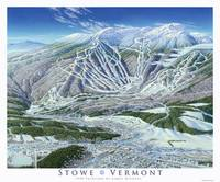Stowe Trail Map Image