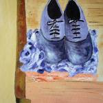 """Purple shoes"" by RIANA"
