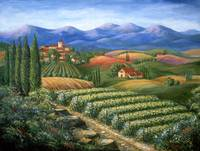 Vineyards and Village