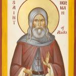 """St Herman of Alaska"" by ikonographics"
