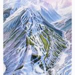 """Aspen Highlands Colorado"" by jamesniehuesmaps"