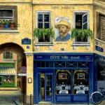 """Cafe Van Gogh"" by marilyndunlap"