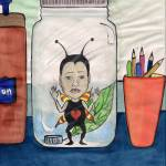 """bug in a jar"" by bitsycabana"