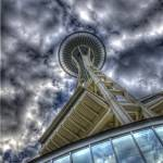 """Look Up To Space Needle"" by SeekGeo"