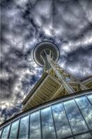 Look Up To Space Needle