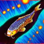 """As The Koi Fish Swim slowly"" by ToxicCub"