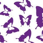 """""""Butterfly Parade Purple"""" by ImageMonkey"""