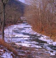 Icing on Seneca Creek