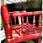 """Red High Chair"" by barbee"