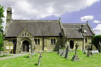 St Katherine's Church at Rowsley, Derbyshire