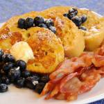 """20120122 Vanilla & Blueberry French Toast"" by TomSpaulding"