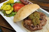 20111015 Lamb Burger by Tom Spaulding