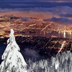 """Vancouver city from Grouse Mountain"" by pierreleclerc"