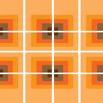 """""""70s Retro Orange Vibe"""" by ImageMonkey"""